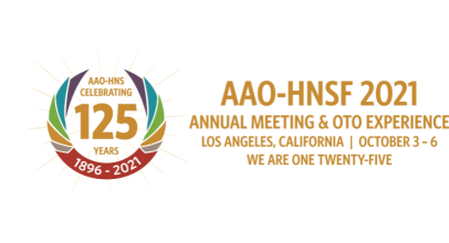 More Info for AAO-HNSF 2021 Annual Meeting & OTO Experience