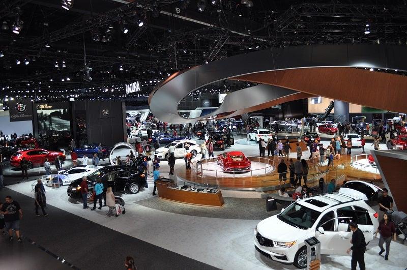 Los Angeles Convention Center - Port angeles car show