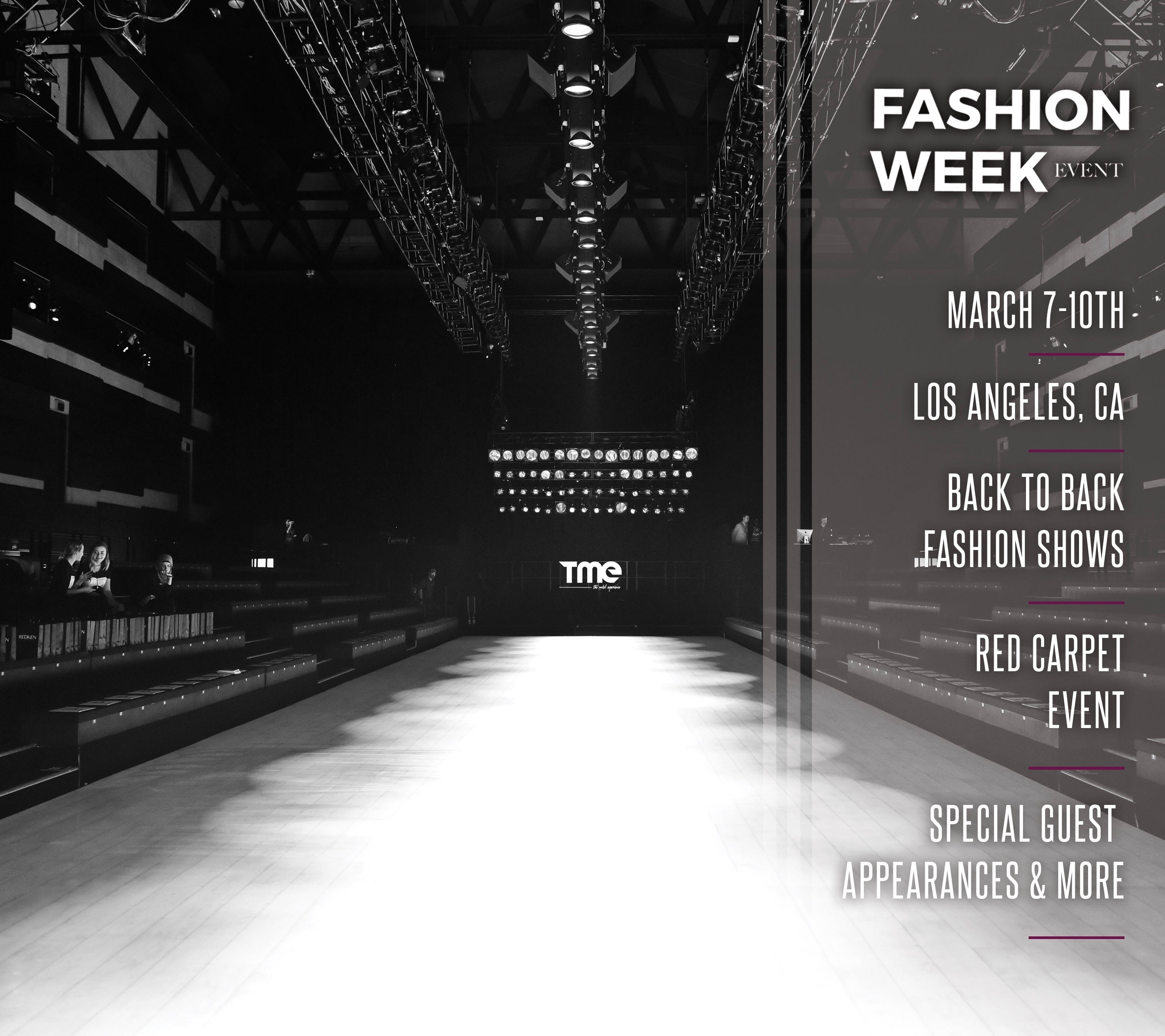 Shows In Los Angeles >> Fashion Week Event Powered By The Model Experience Los